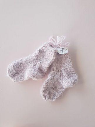 Megztos vilnos kojinytės