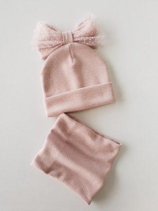 Kepurės su mova mergaitėms