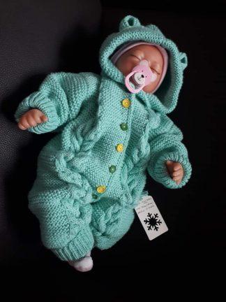 Megzti merino vilnos kombinezonai kūdikiams