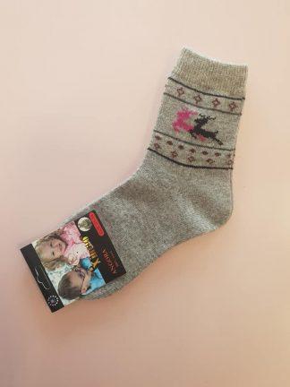 Angoros kojinės mergaitėms
